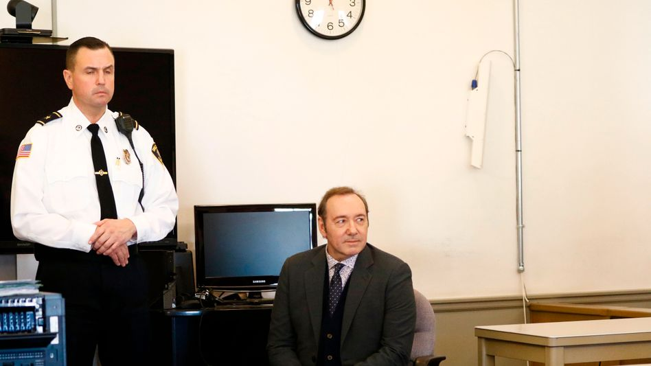 Strafverfahren in Massachusetts: Kevin Spacey vor Gericht (Archiv)