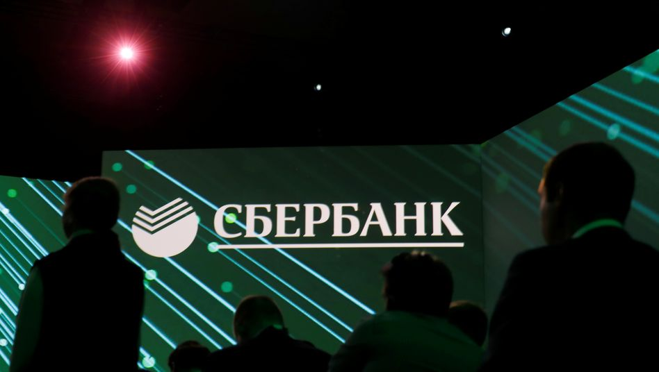 Sberbank-Logo: Die Bank geht mehrheitlich an die russische Regierung