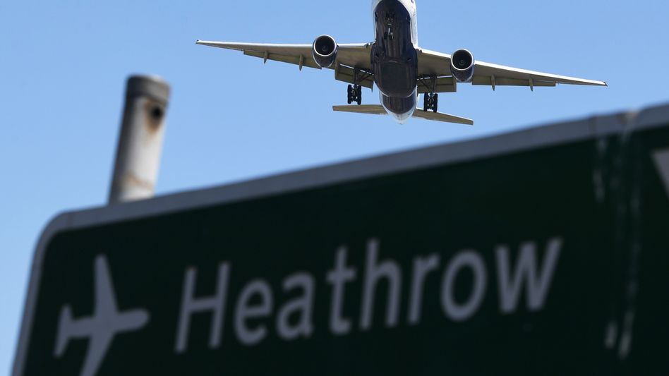 Landeanflug auf Heathrow