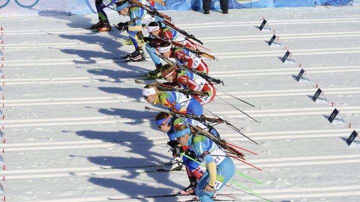 Sieg im Biathlon: Der Goldlauf von Magdalena Neuner
