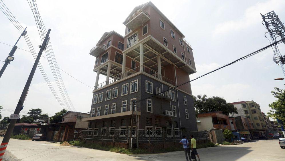 Kuriose Gebäude: China baut