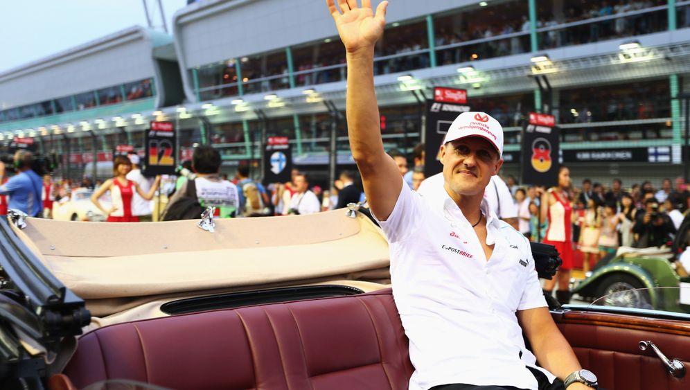 Grand Prix in Singapur: Schumacher lässt es krachen