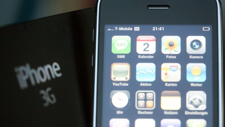 "Apples iPhone (Foto von 2008): Zugang per ""DROPOUTJEEP"""