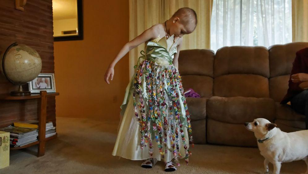 Siebenjährige schluckt Cannabis-Öl: Brave Mykayla