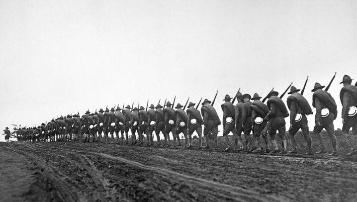 US-Eintritt in den Ersten Weltkrieg: Feldzug der Friedliebenden