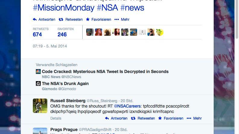 US-Geheimdienst auf Twitter: Verschlüsselung für Einsteiger