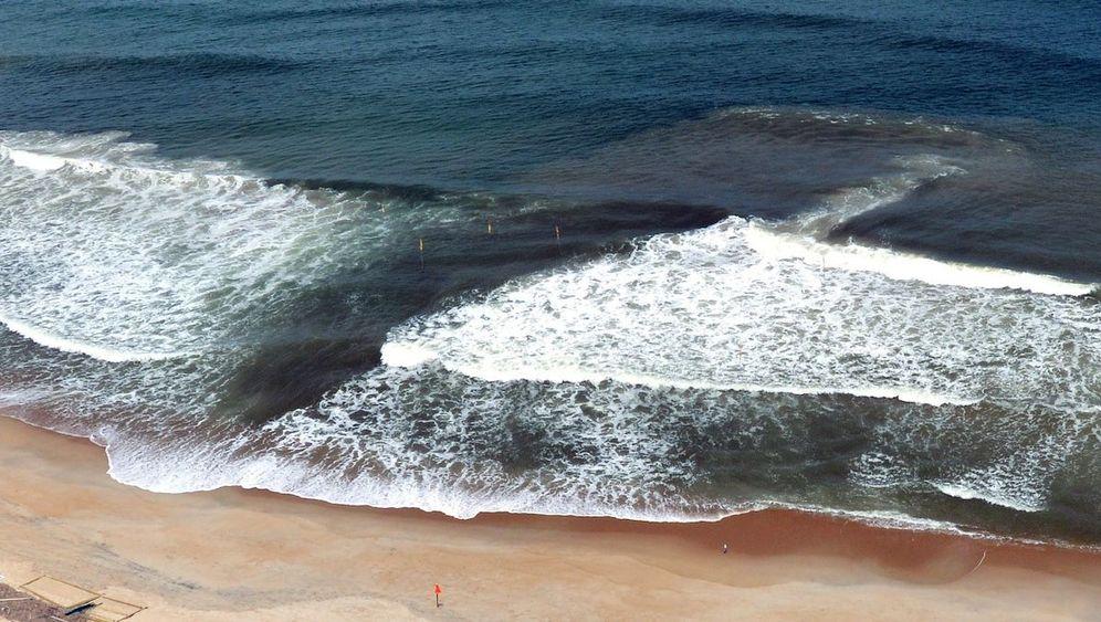 Gefahr am Strand: Unsichtbare Rippströme