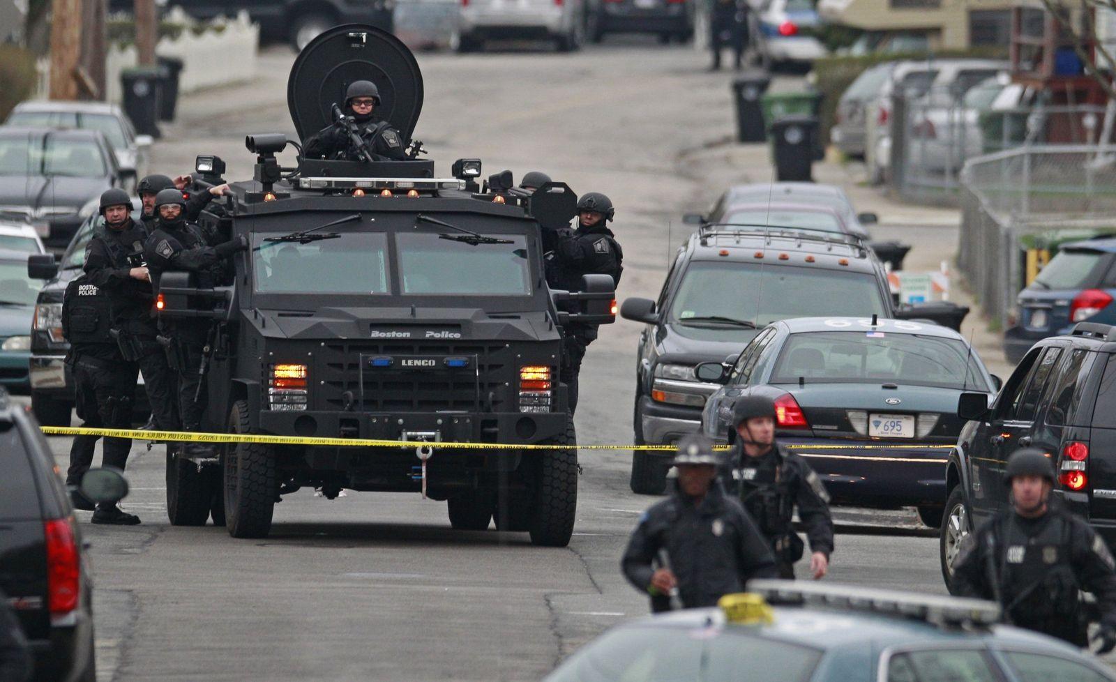 Cambridge/ Watertown/ Boston-Anschlag