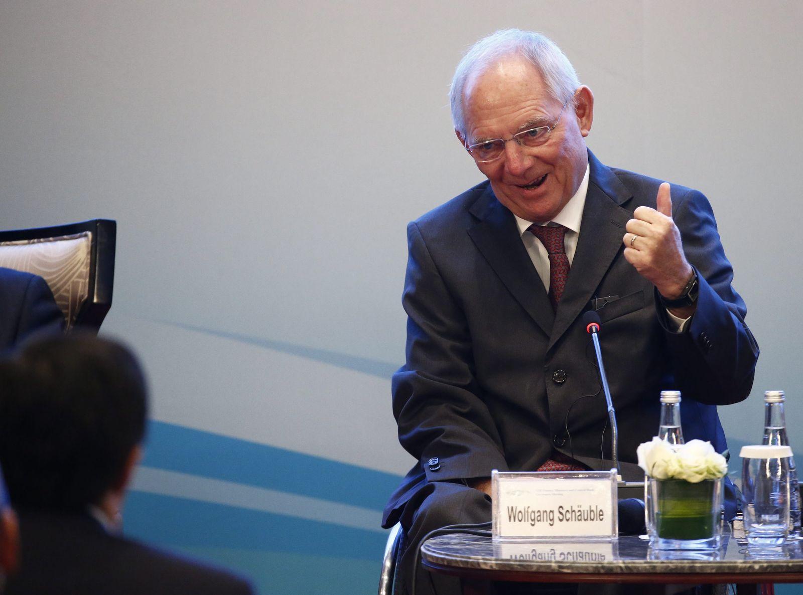 Schäuble/ China G20