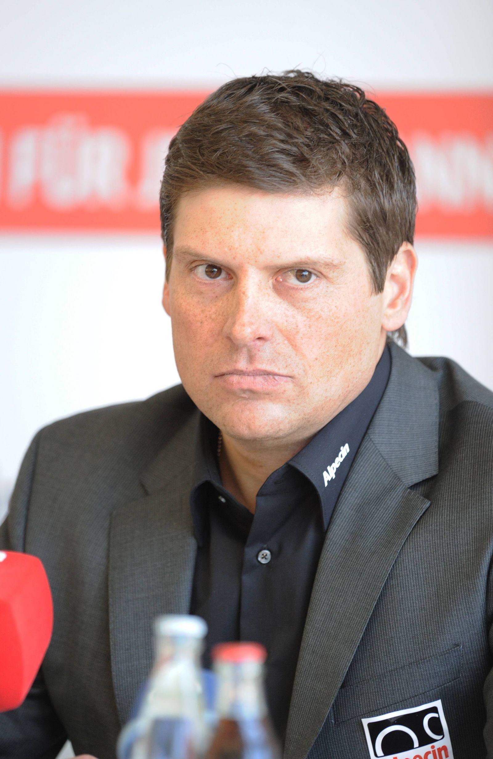 EINMALIGE VERWENDUNG Jan Ullrich/ Autounfall