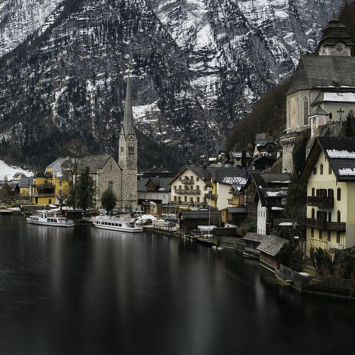 Der Instagramer Lars Krux hat sich von Fotos anderer Instagram-Profile inspirieren lassen, er reiste im Februar nach Hallstatt.