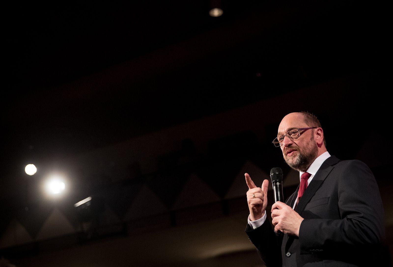 SPD-Kanzlerkandidat Schulz im Norden