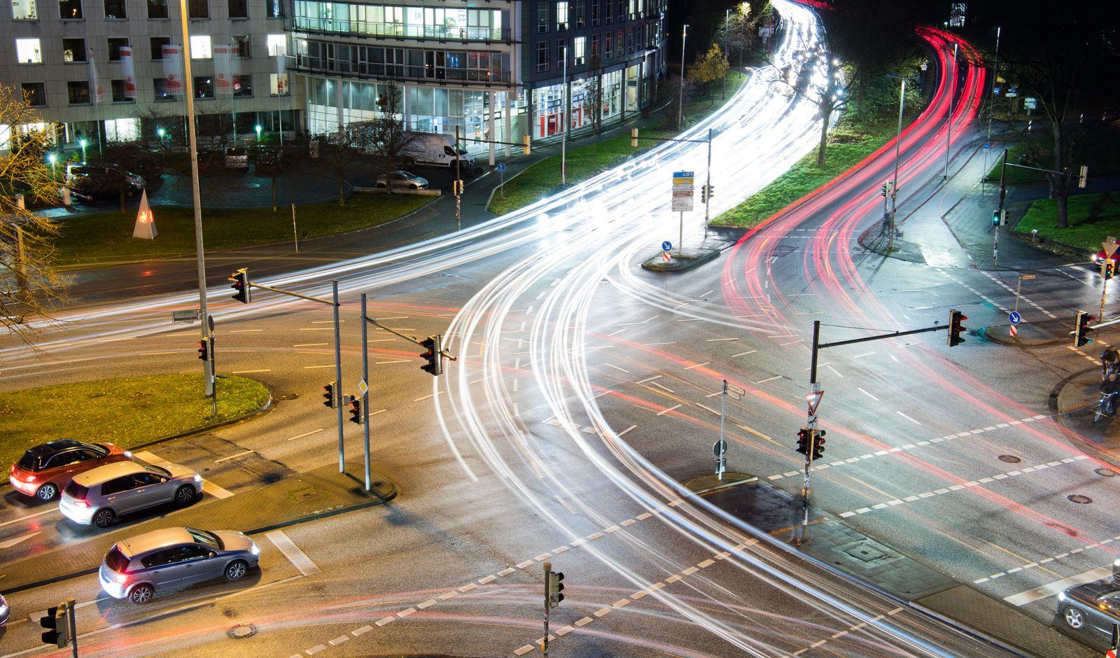 Kreuzung Autos