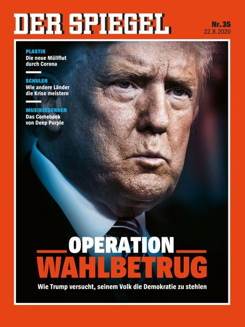 Wie Trump versucht, die Wahl zu stehlen: Die SPIEGEL-Titelgeschichte finden Sie hier.
