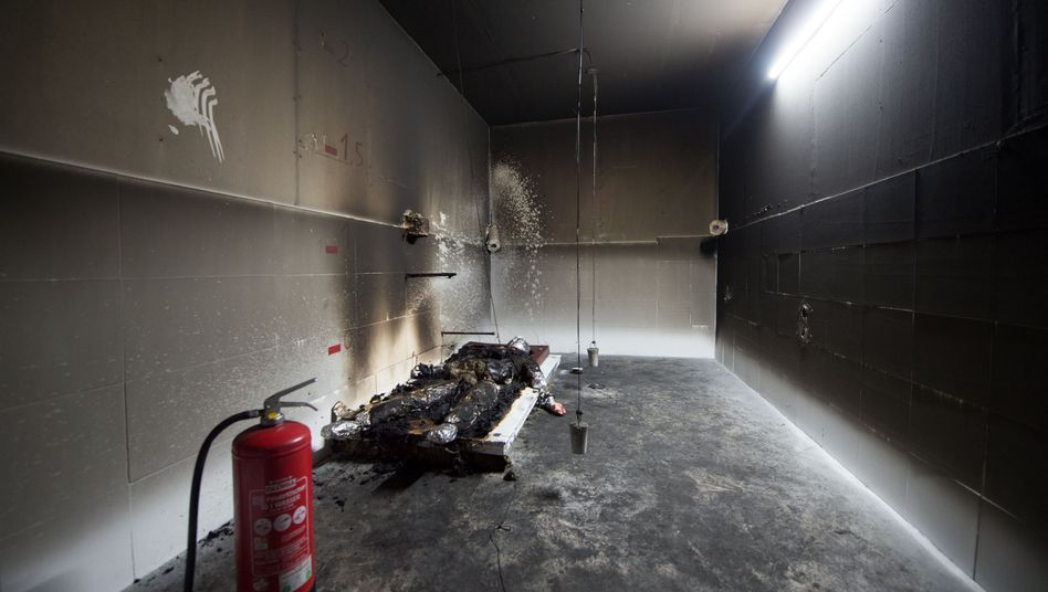 Brandanalyse im Fall Jalloh (August 2016)