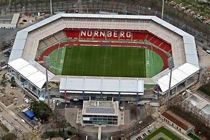 Nürnberger Frankenstadion: Verstoß gegen Werberichtlinien der Fifa