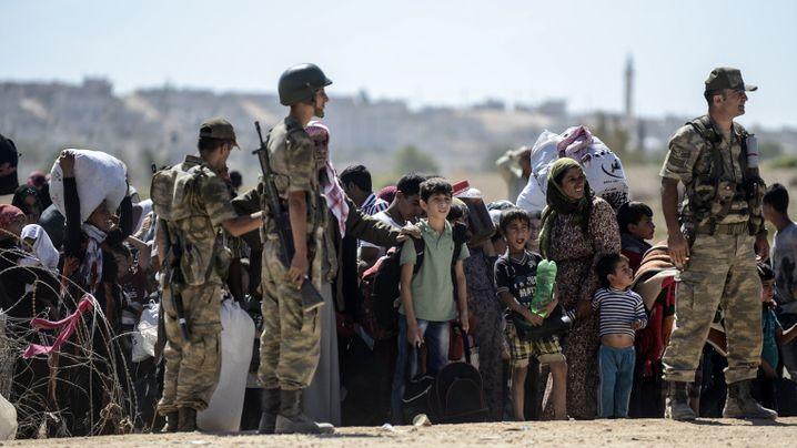 Syrische Grenze: Hoffen auf die PKK