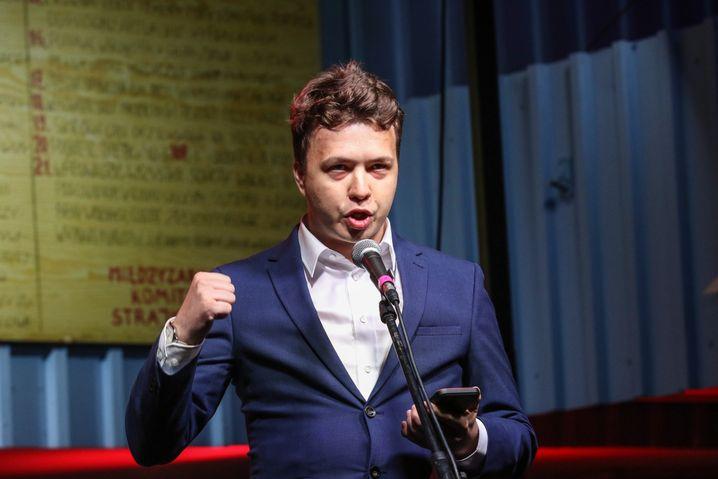 Roman Protasewitsch Ende August 2020 in Polen