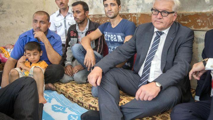 Außenminister Steinmeier in Arbil: Harte Tour im Irak
