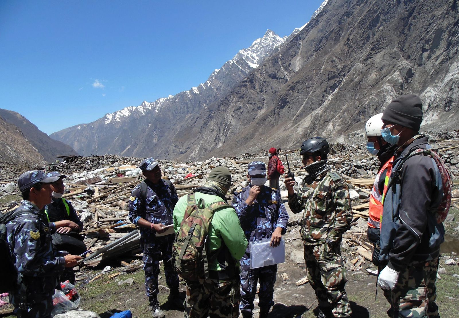 Nepal Earthquake Aftermath in Langtang