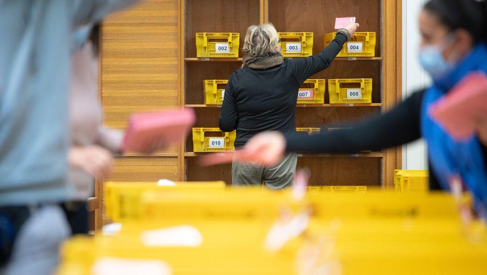 Briefwahl in Coronazeiten: Anfang November fand in Stuttgart die erste Runde der Wahlen zum Oberbürgermeister statt