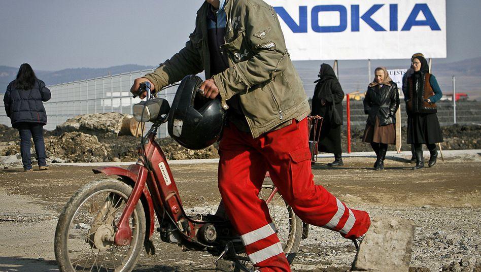 Nokia-Mitarbeiter in Rumänien: 60 Millionen Euro investiert