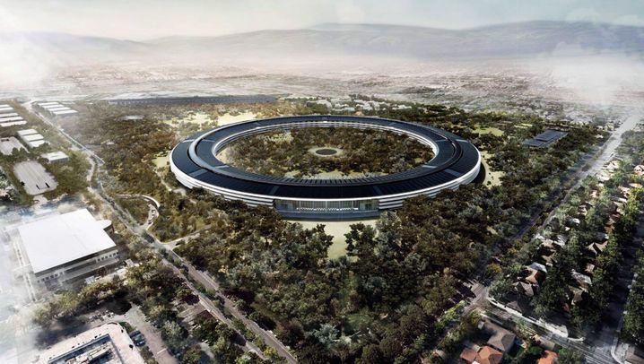 Neue Zentrale: So sieht das Apple-Ufo aus