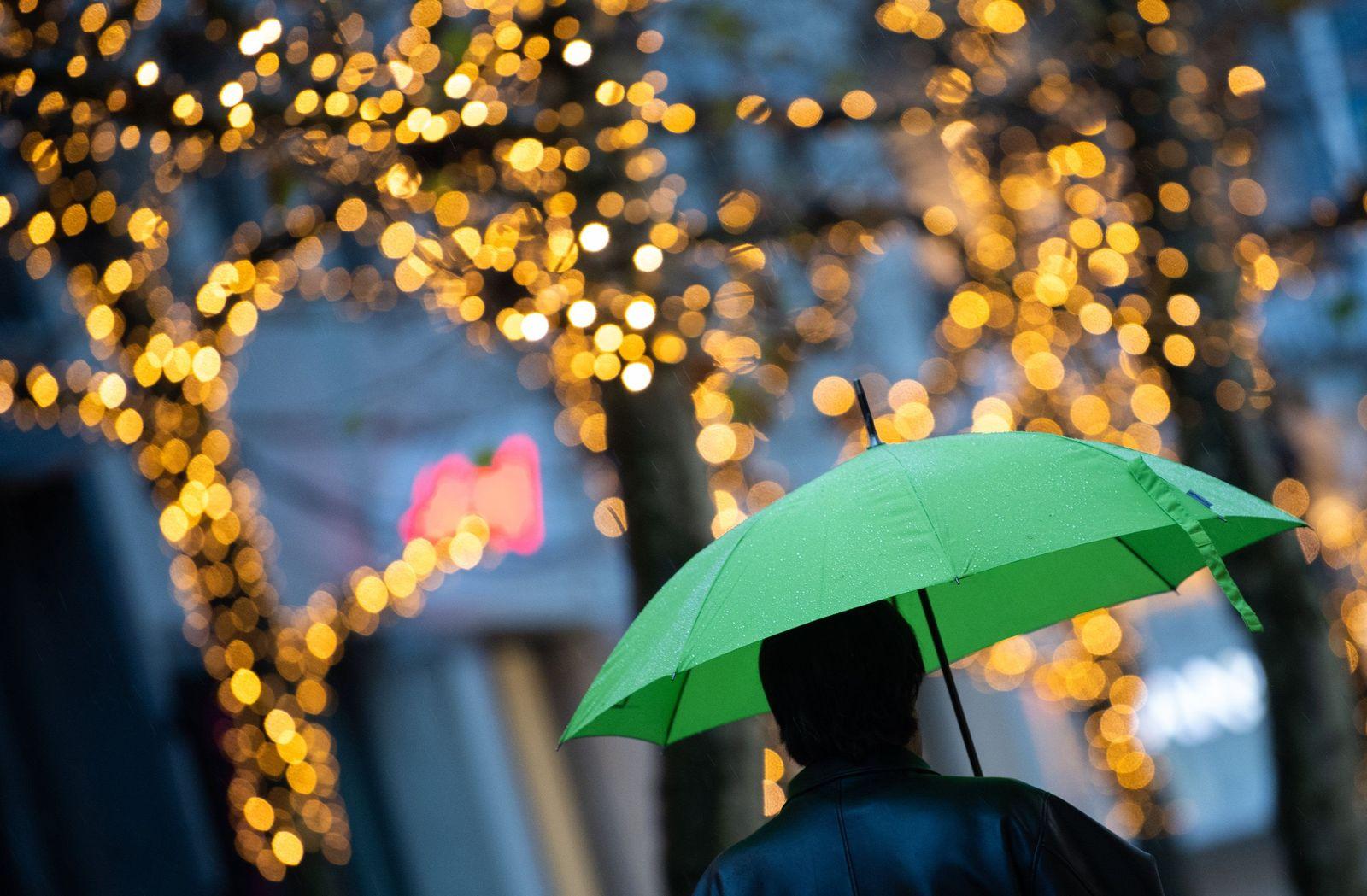 Regen in Stuttgart