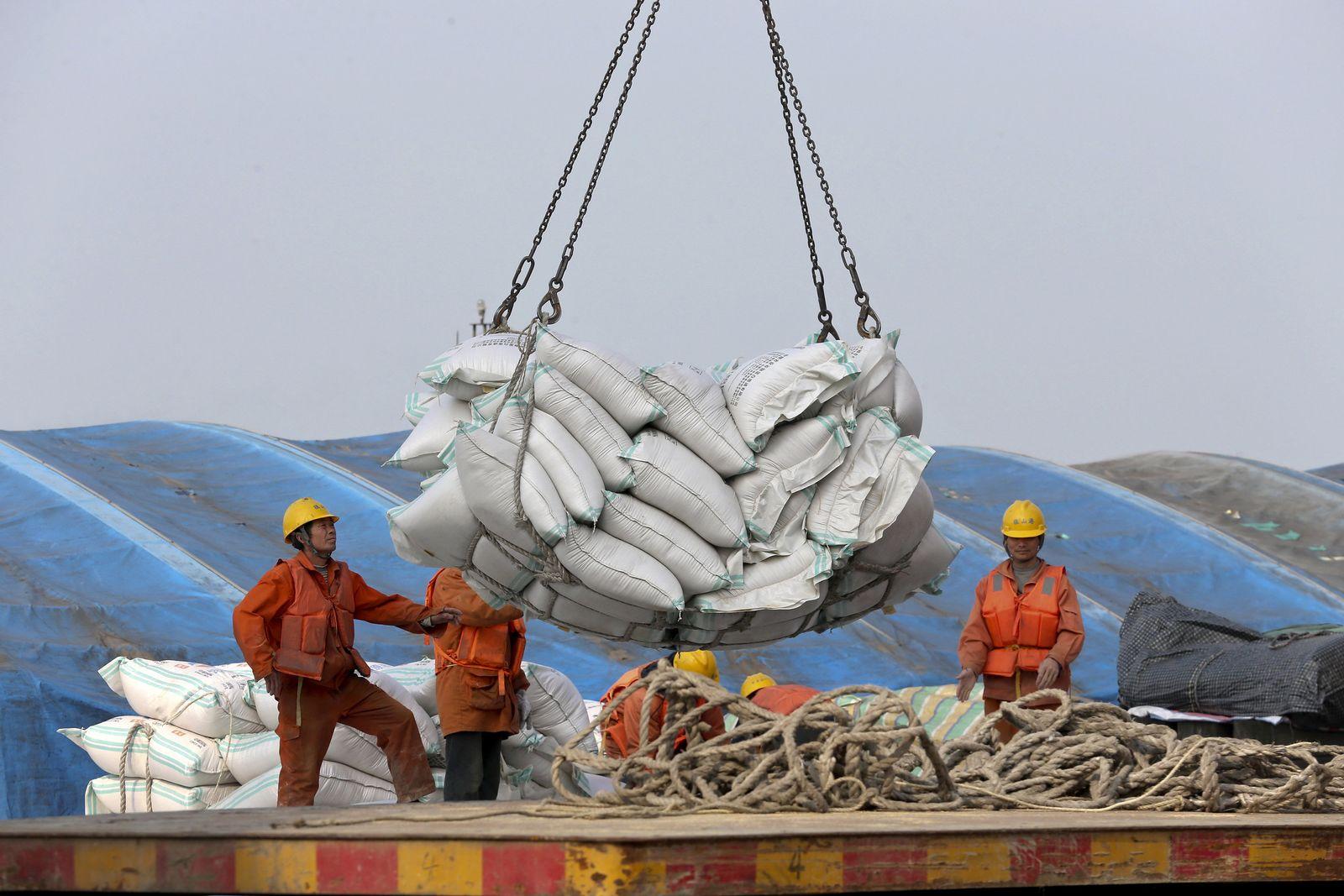 Handelskonflikt/ China/ USA