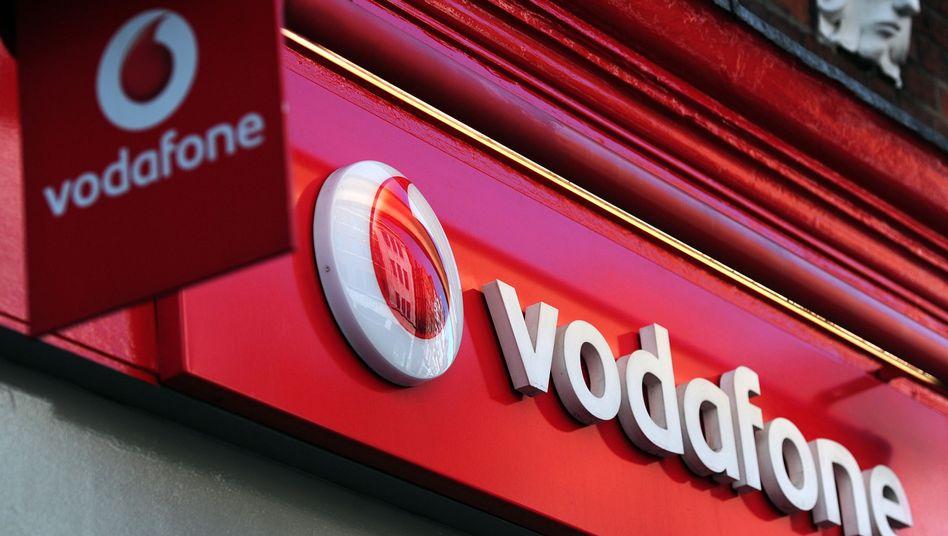 Vodafone-Shop: Erlöse schrumpfen
