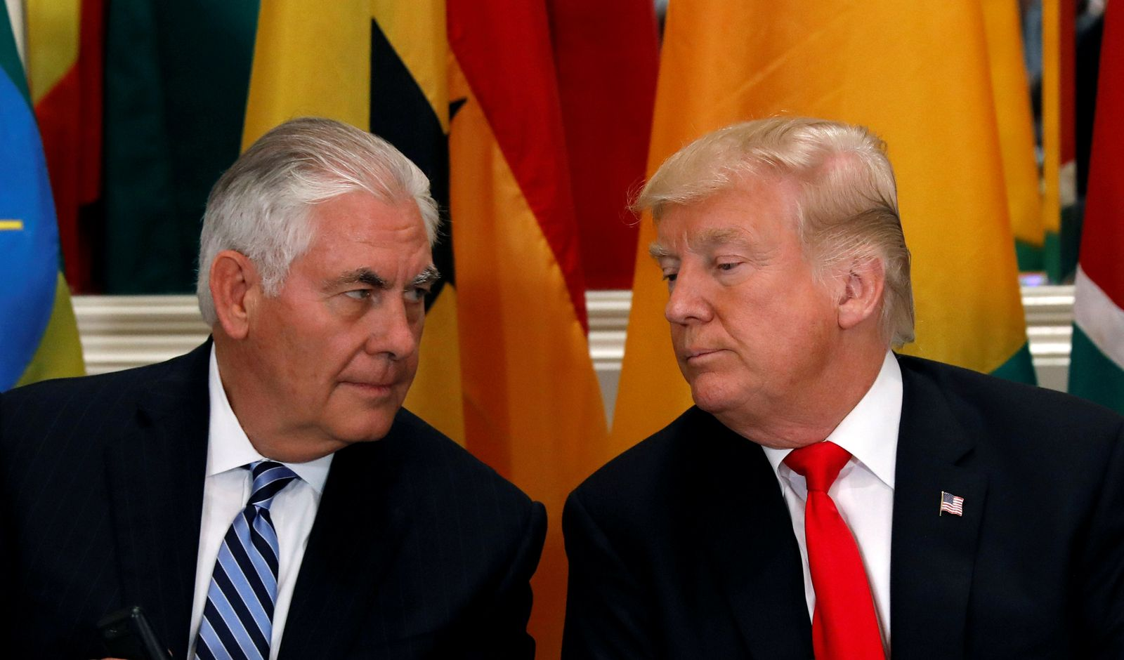 Tillerson/ Trump