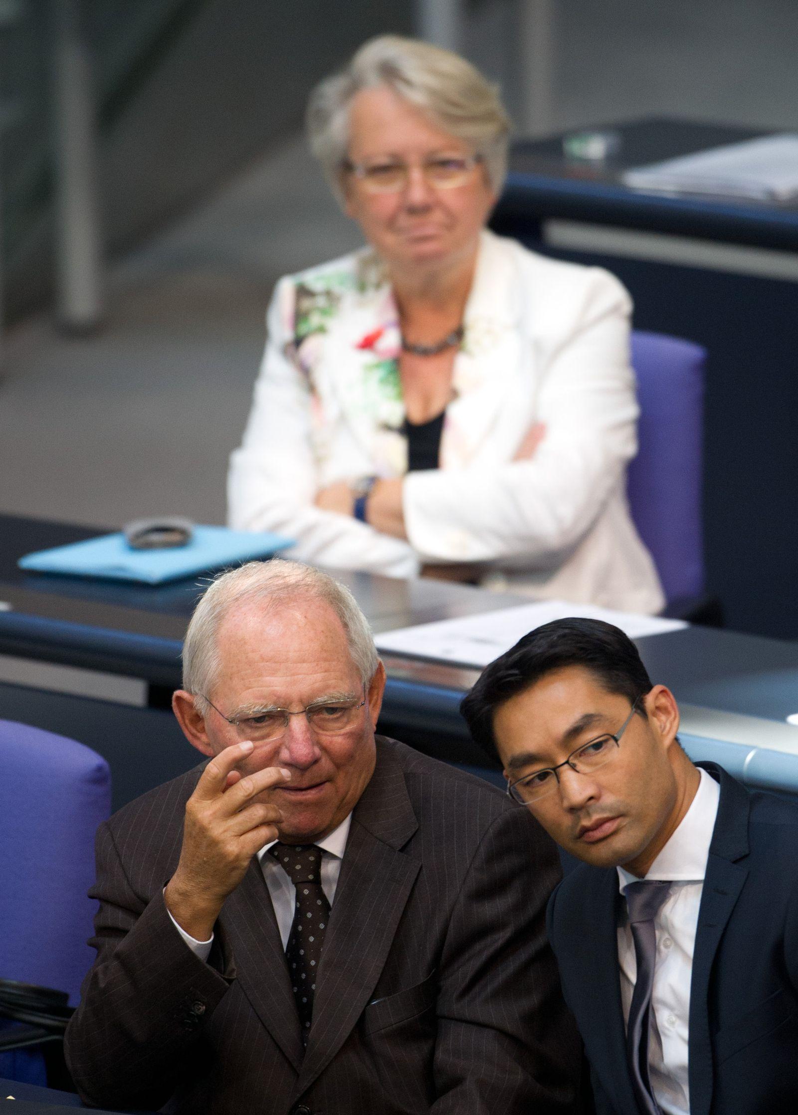 Rösler/ Schäuble