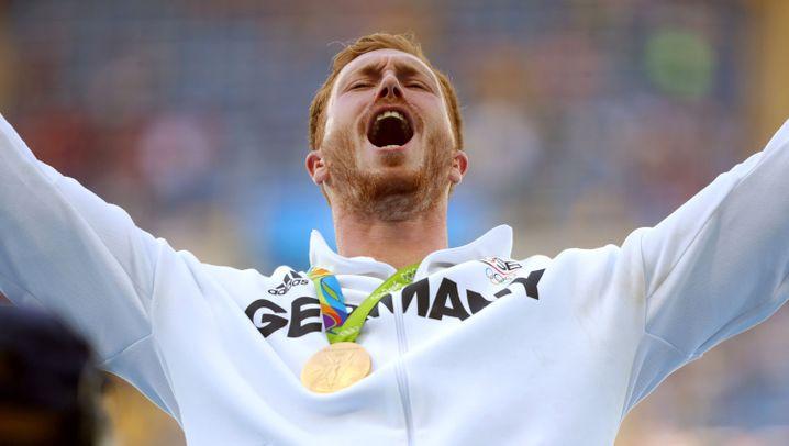 Olympiasieger im Diskuswerfen: Der Poser