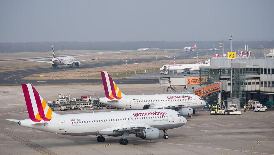 Germanwings am Boden: Keine Sicherheitsbedenken, aber Schock