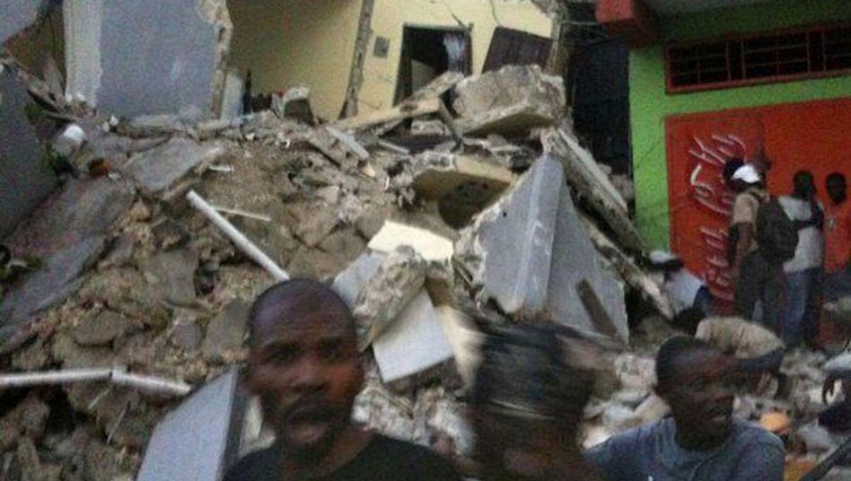 Karibik: Heftiges Erdbeben erschüttert Haiti
