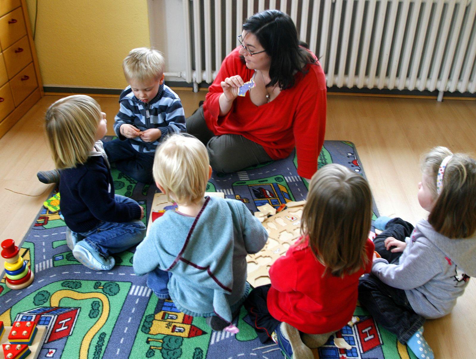 Kindergarten / Erzieherin