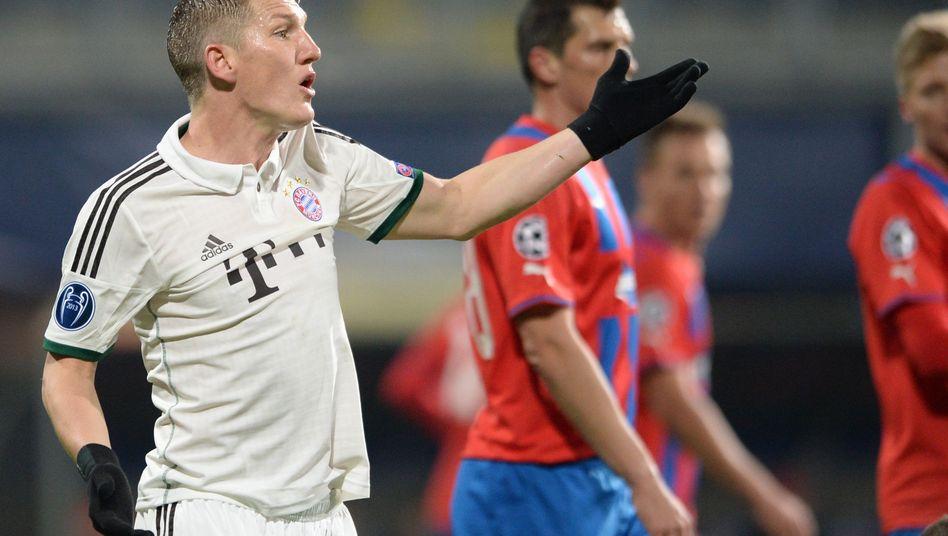 Mittelfeldspieler Schweinsteiger: Zuletzt im November am Ball