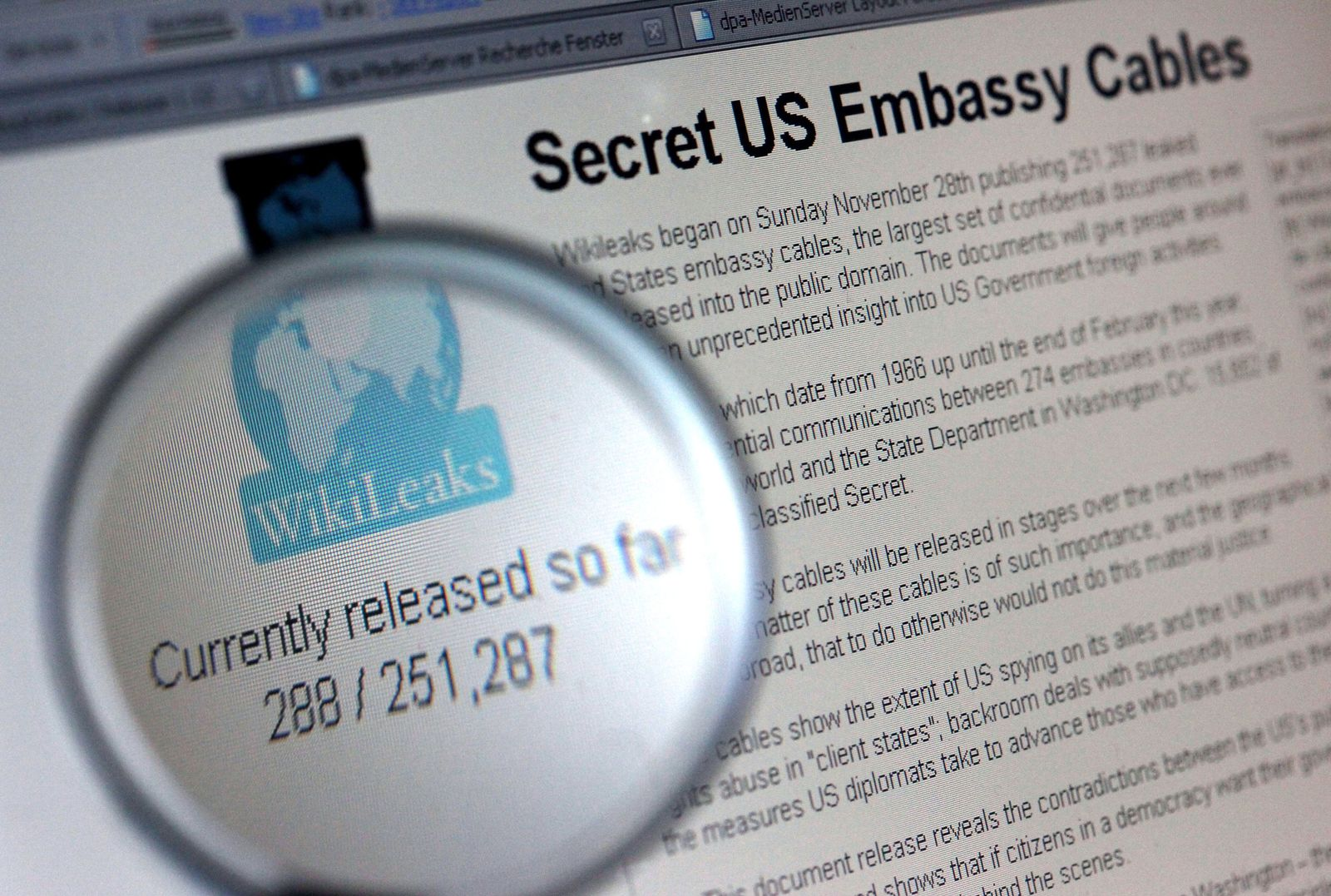 Wikileaks / Vorwurf gegen Guardian