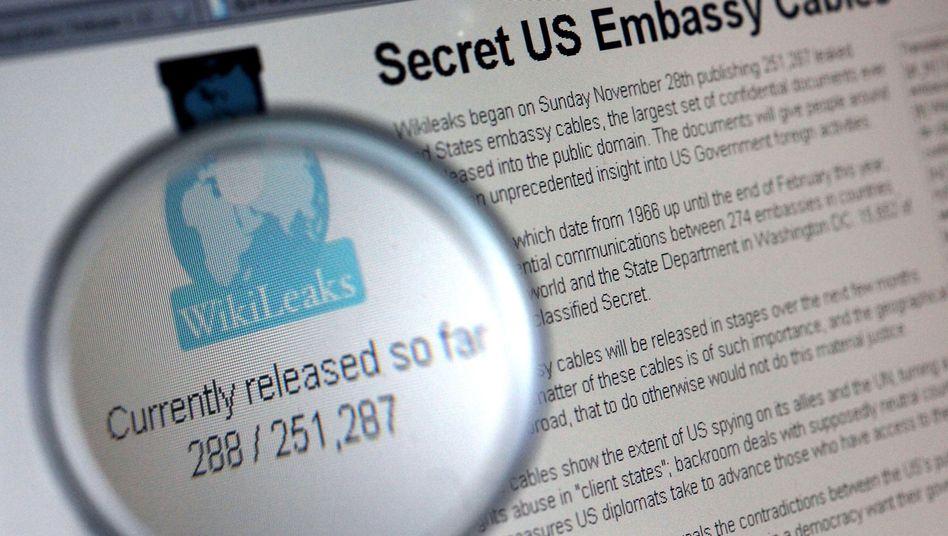 WikiLeaks-Logo: Die Organisation klagt gegen die Spendenblockade durch Finanzdienste