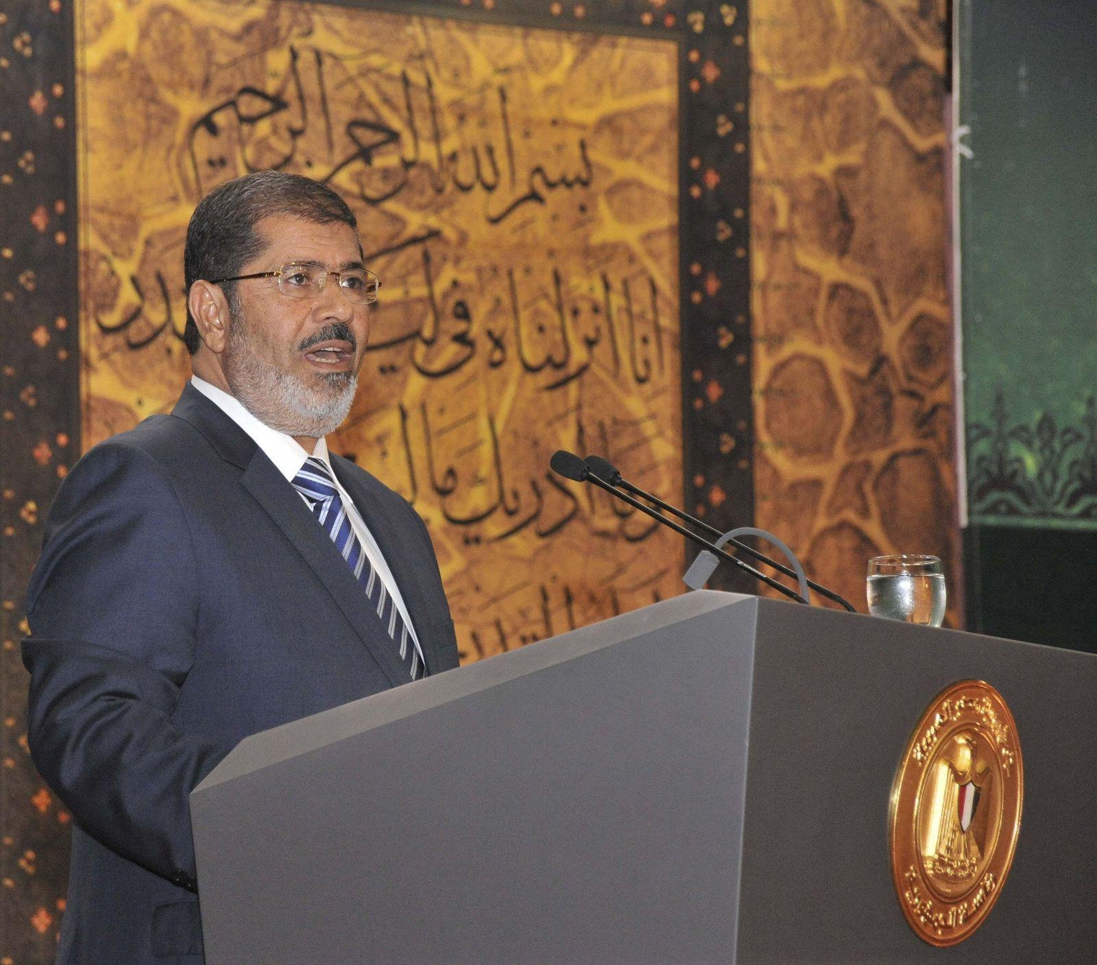 EGYPT-PRESIDENT Mursi