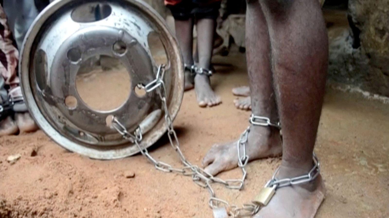 Nigeria / gerettete Kinder