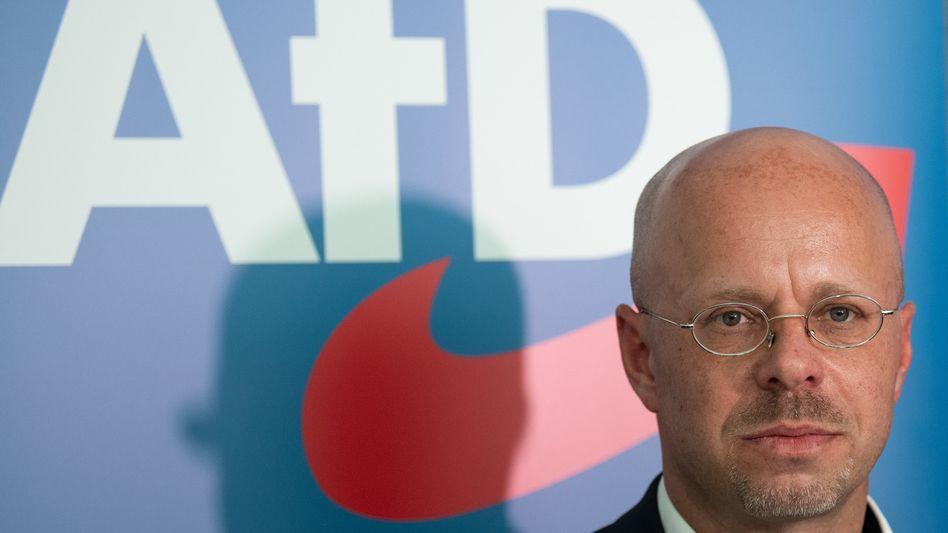 Weiter in der AfD - zumindest vorerst: Andreas Kalbitz