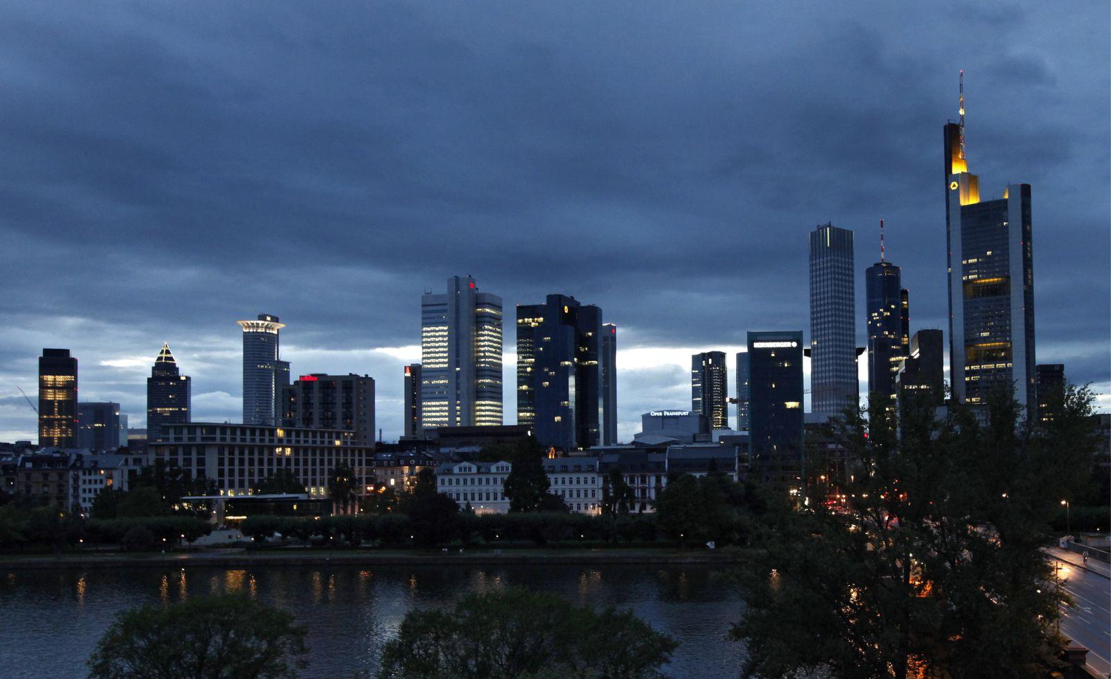 NICHT VERWENDEN Skyline / Frankfurt