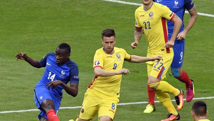 Frankreich gegen Rumänien: Sieg in letzter Minute