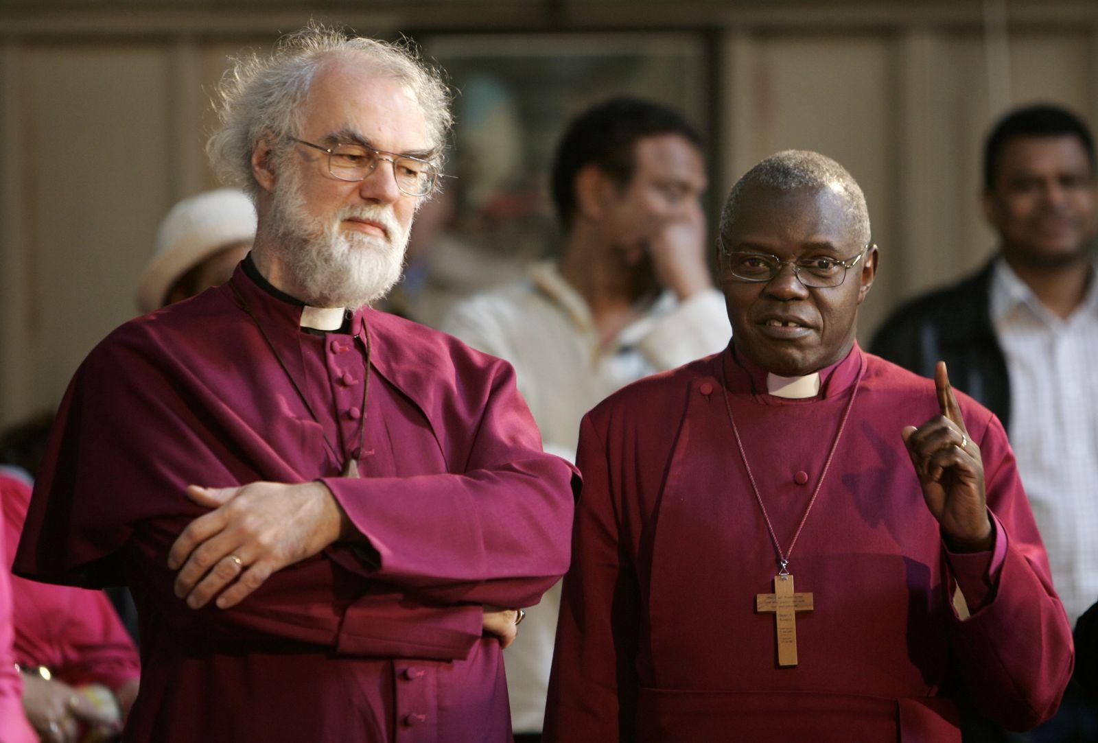 Anglikanische Kirche / Rowan Williams / John Sentamu