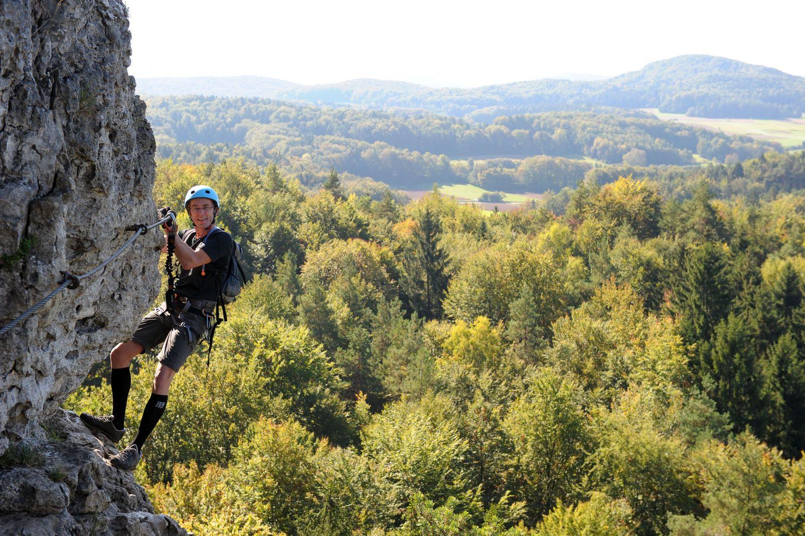 Höhenglücksteig/ Klettersteig