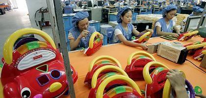 Spielzeugproduktion in China: Schwer von der Krise getroffen