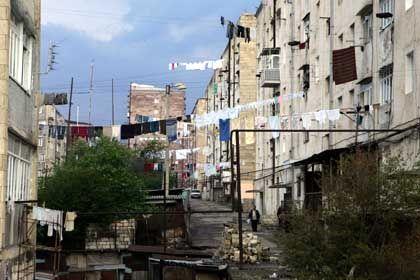 The city of Stepanakert.