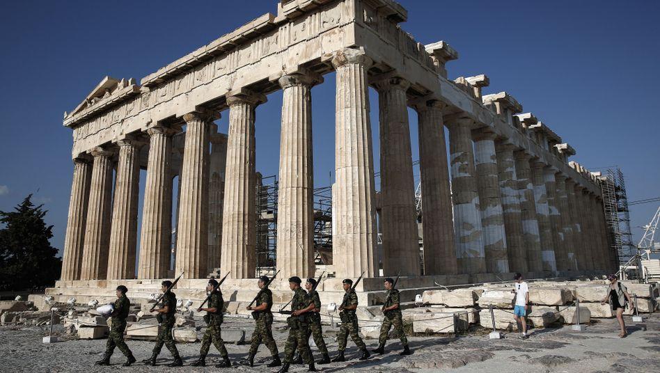 Akropolis in Athen: 20 Euro statt 12 Euro für ein Ticket