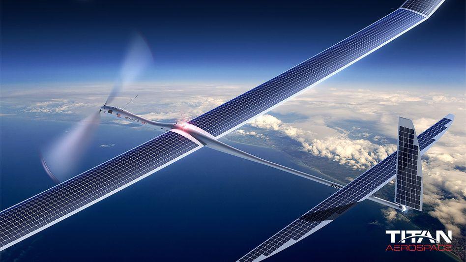"""""""Solara""""-Drohne von Titan Aerospace: Betrieben mit Solarenergie"""